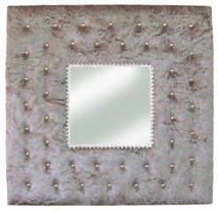 Objets deco for Miroir gris argent
